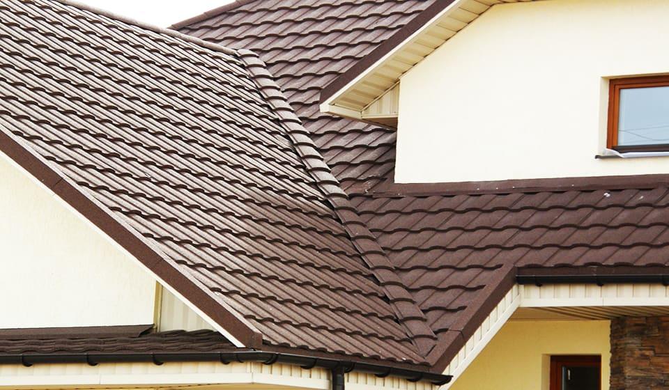 Крыша металлочерепица монтеррей 3