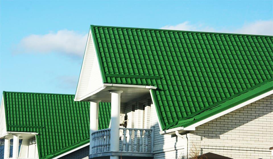 Крыша металлочерепица монтеррей 9