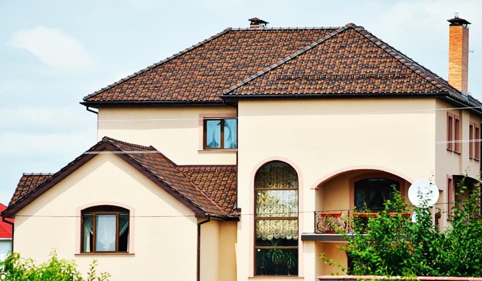 Крыша металлочерепица монтеррей 4