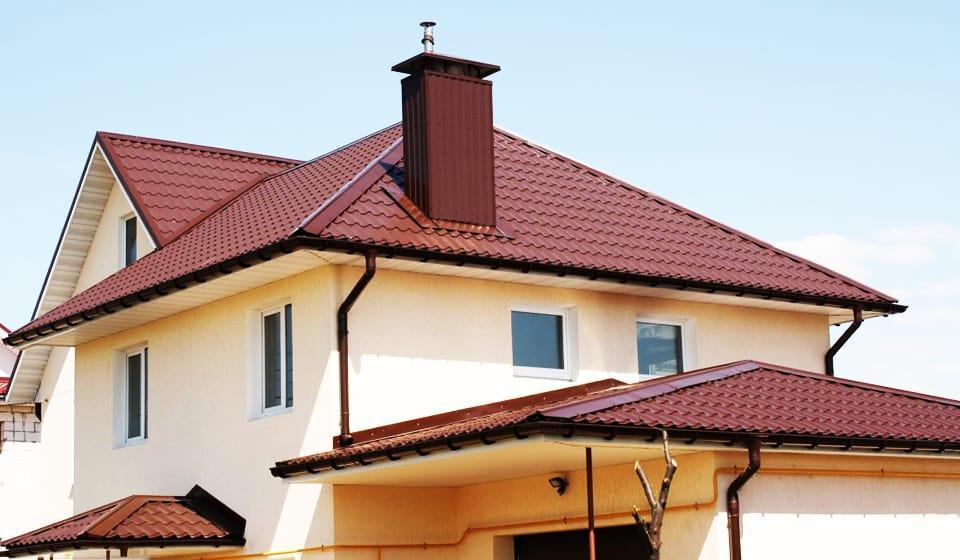 Крыша металлочерепица монтеррей 7