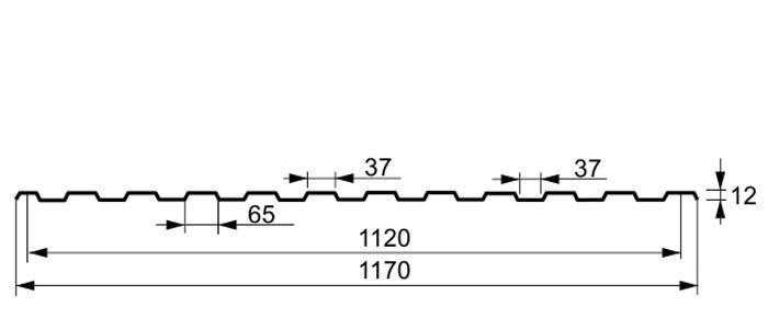 Профнастил-ПС-12-2