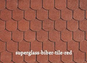 superglass-biber-tile-red