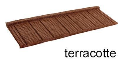 черепица Queentile Shake terracotte